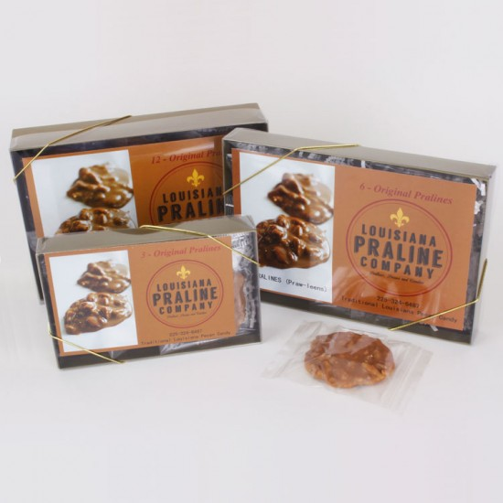 Authentic Louisiana Pralines in Gift Boxes